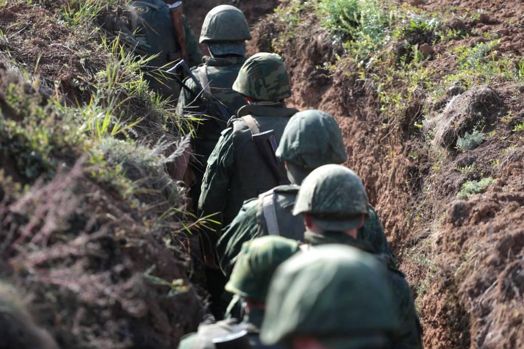Село Старомарьевка в Донбассе захватили