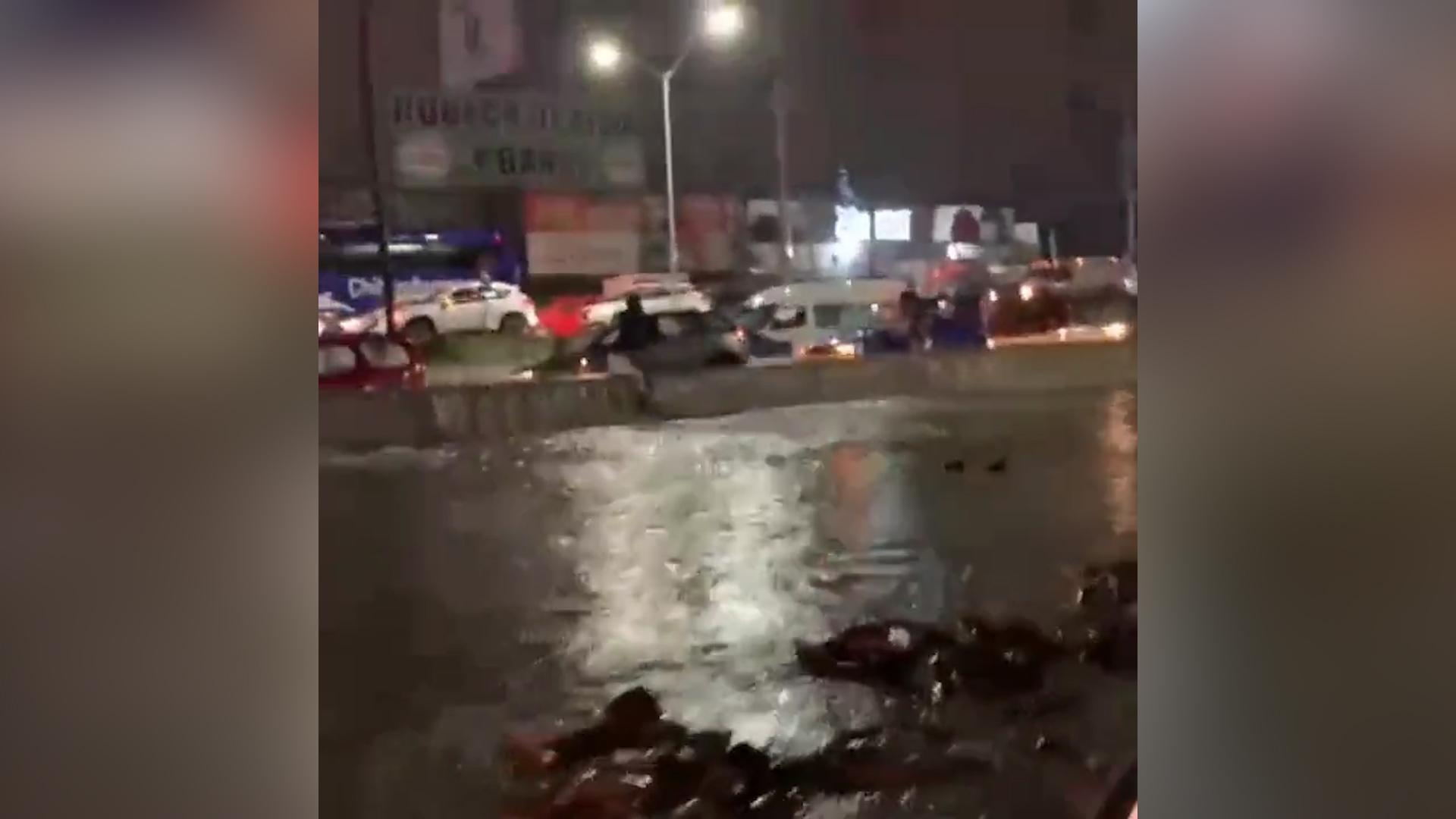Мощное наводнение в Мексике привело к эвакуации более трёх тысяч человек
