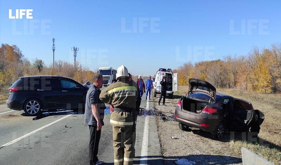 Под Самарой водитель легковушки вылетел на встречку и устроил ДТП с тремя погибшими