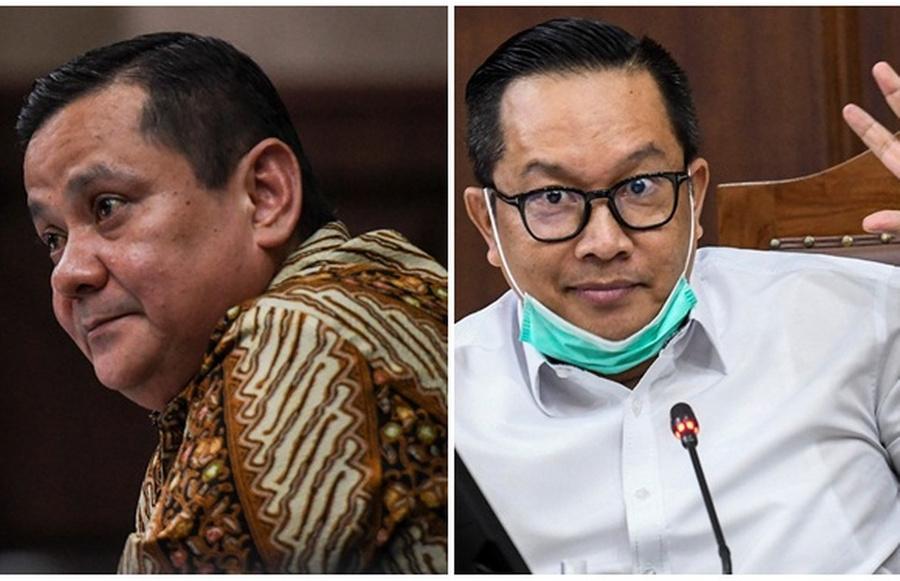 <p>Наполеон Бонапарт слева и Прасетиджо Утомо справа. Фото © Jakarta Globe</p>