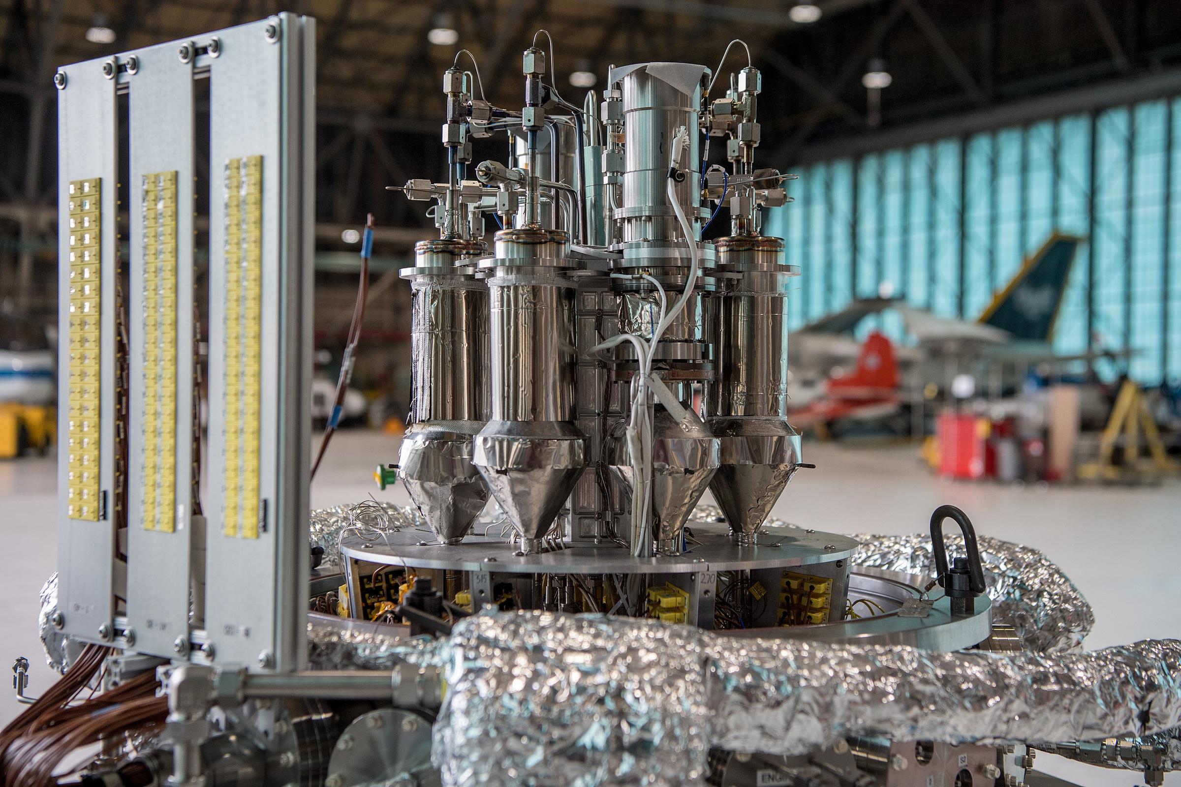 Прототип ядерного реактора Kilopower мощностью 1 кВт. Фото © Wikipedia