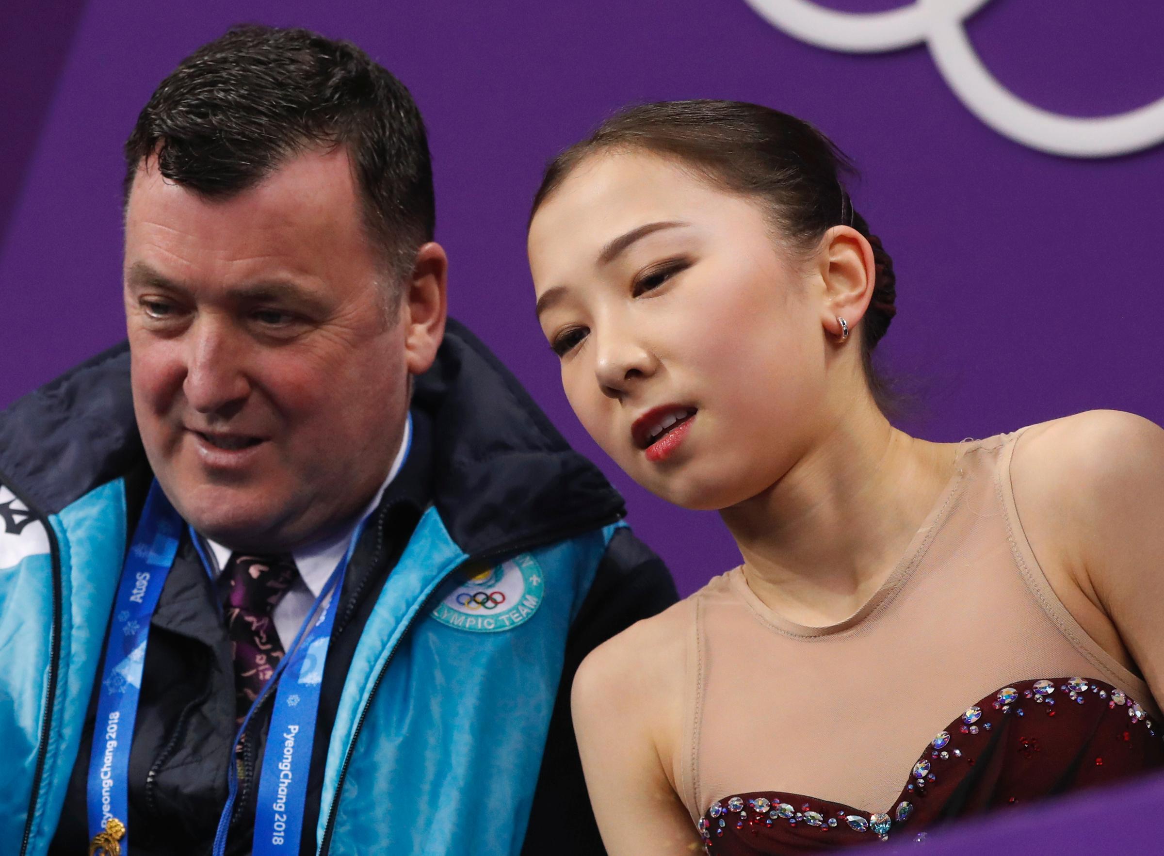 Орсер и Турсынбаева на ОИ-2018. Фото © AP / TASS / Bernat Armangue