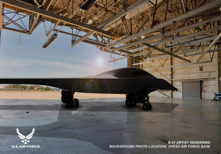 """<p>B-21<strong style=""""font-weight: bold;""""> </strong>Raider. Фото © USAF</p>"""