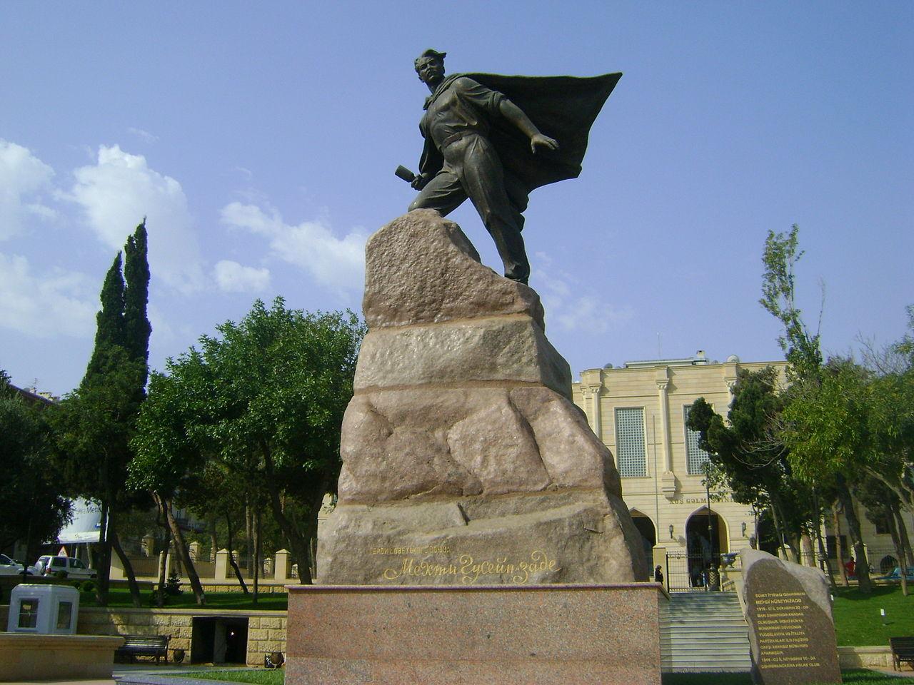 Памятник Мехти Гусейн-заде в Баку. Фото© Wikipedia