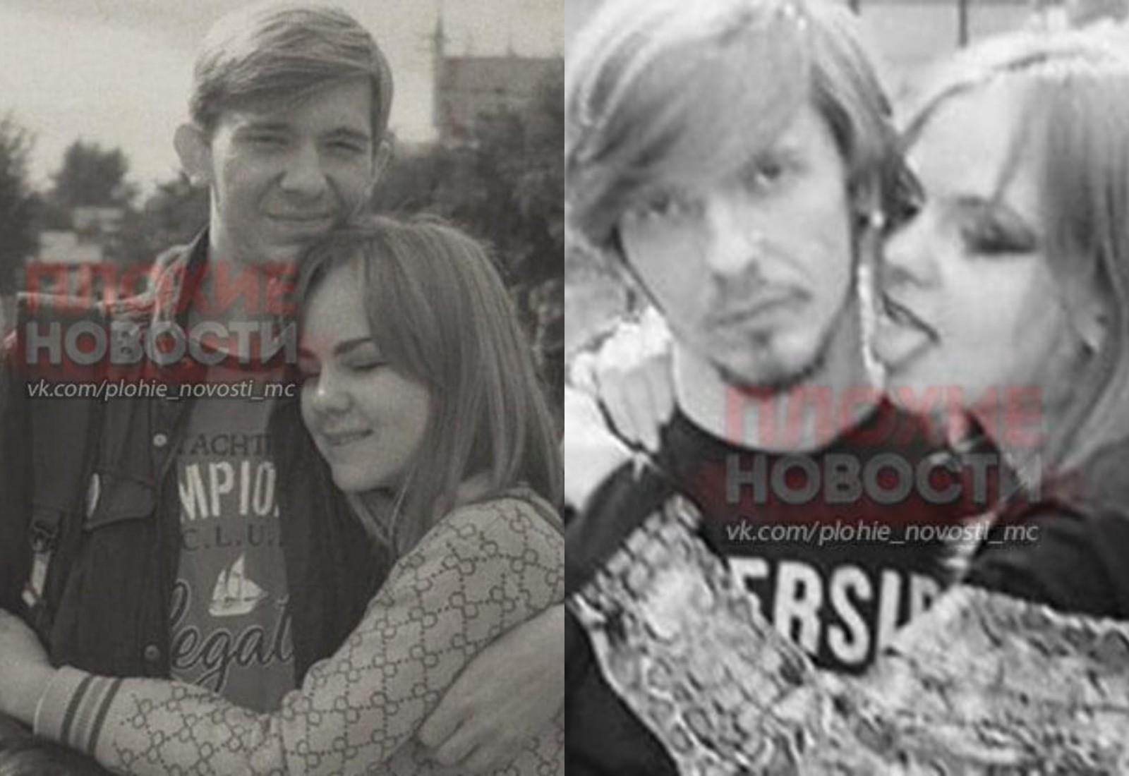 """Денис Миллер с девушкой. Фото © Telegram / """"Плохие новости 18+"""""""