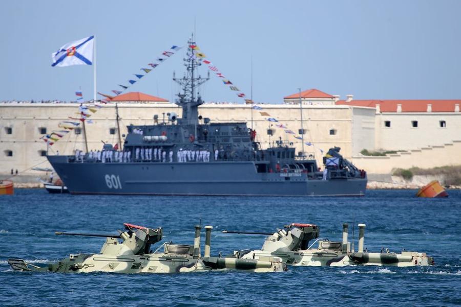 <p>Черноморский флот в Севастополе. Фото © ТАСС / Сергей Мальгавко</p>