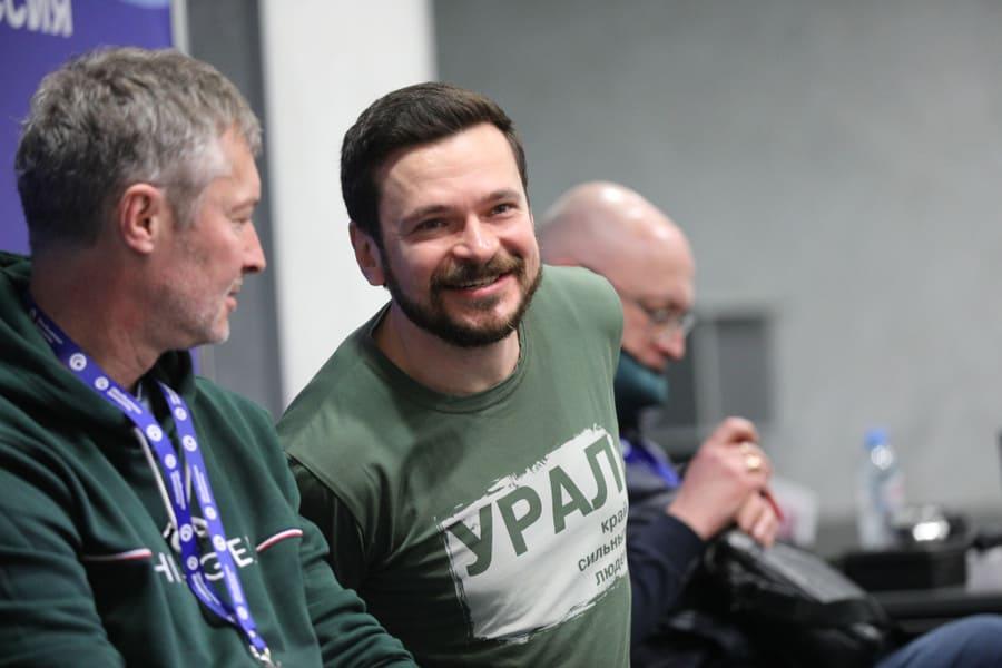 """<p>Евгений Ройзман и Илья Яшин. Фото © ТАСС / """"Ведомости"""" / Максим Стулов</p>"""
