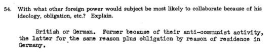 """""""С какими ещё силами может сотрудничать субъект, учитывая его характеристики? С германскими или английскими""""."""