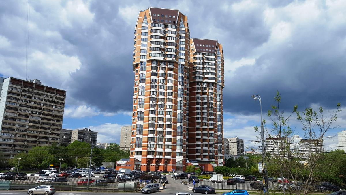 Высотка на Мичуринском просп., 80.  Фото © ochakovo-matveevskoe.com