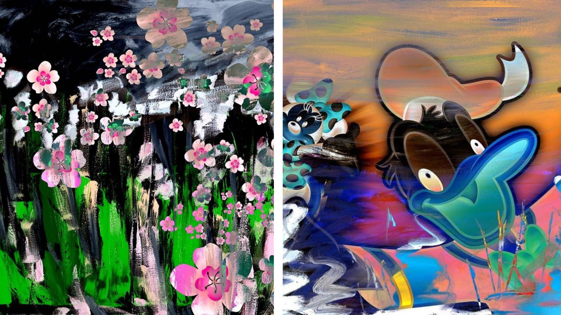 Примеры работ художницы Васильевой. Фото © Instagram / evahomealone