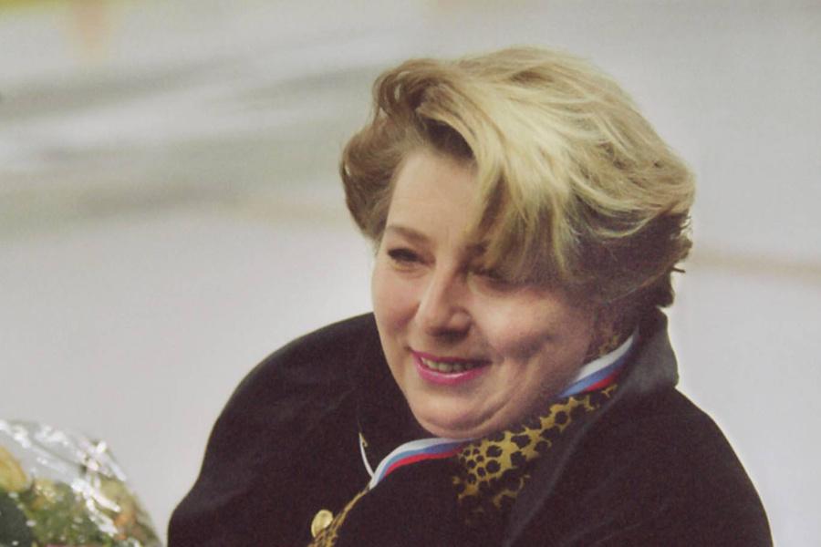 Татьяна Тарасова в 1997 году. Фото © ТАСС / Игорь Уткин