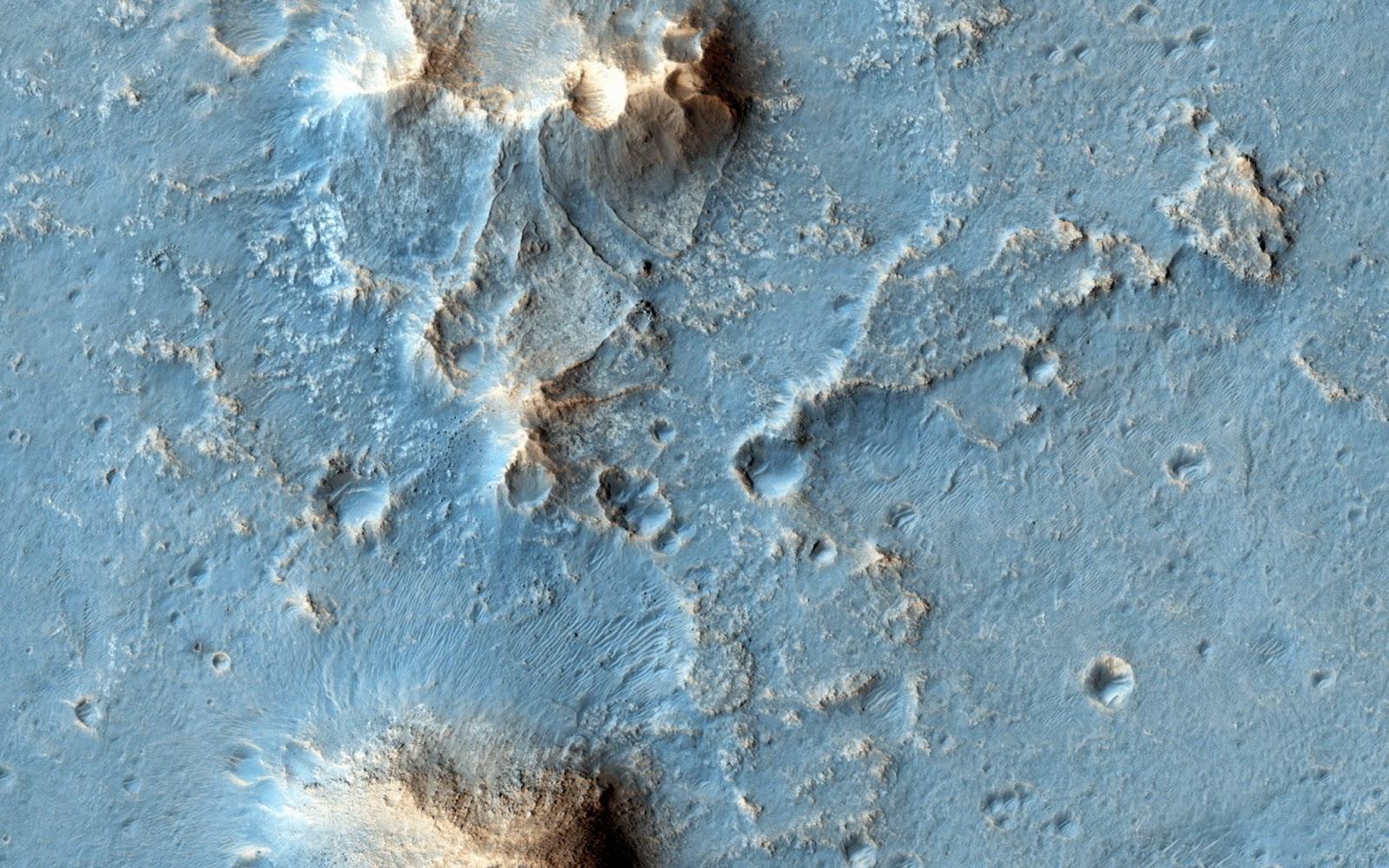 """Плато Оксия на Марсе, выбранное место посадки аппарата """"ЭкзоМарс-2022"""". Фото © NASA"""
