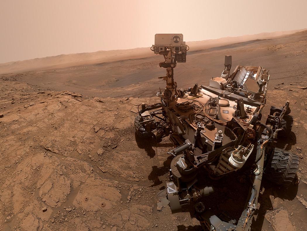 NASA Curiosity. Фото © NASA
