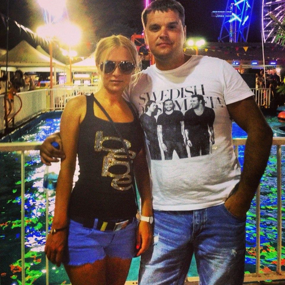 Дмитрий Ипатов с женой Ириной. Фото © VK / Ирина Ипатова