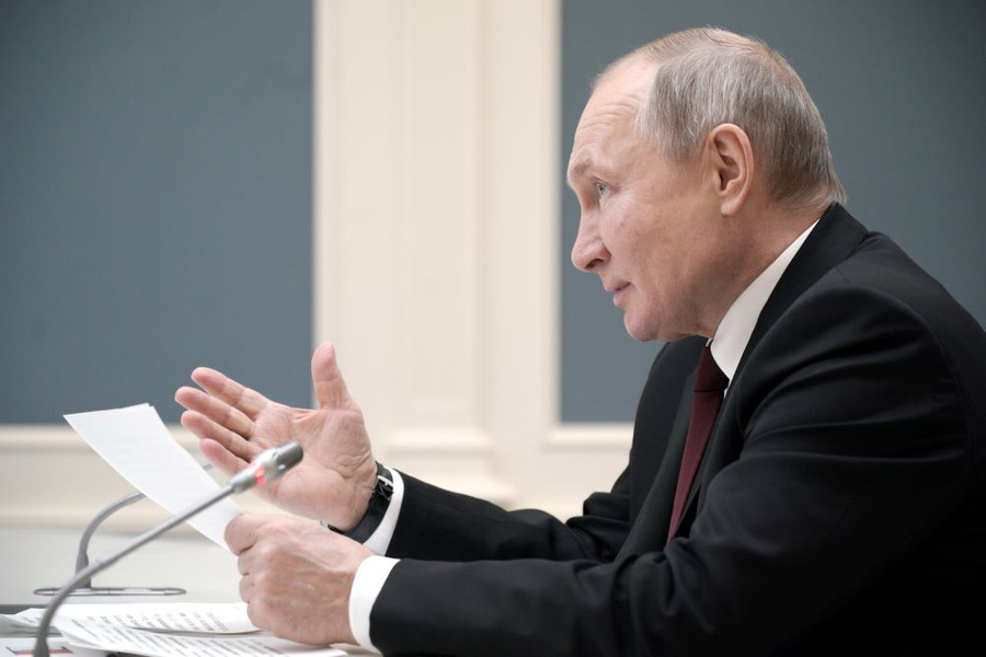 <p>Фото © ТАСС / Алексей Дружинин / пресс-служба президента РФ</p>