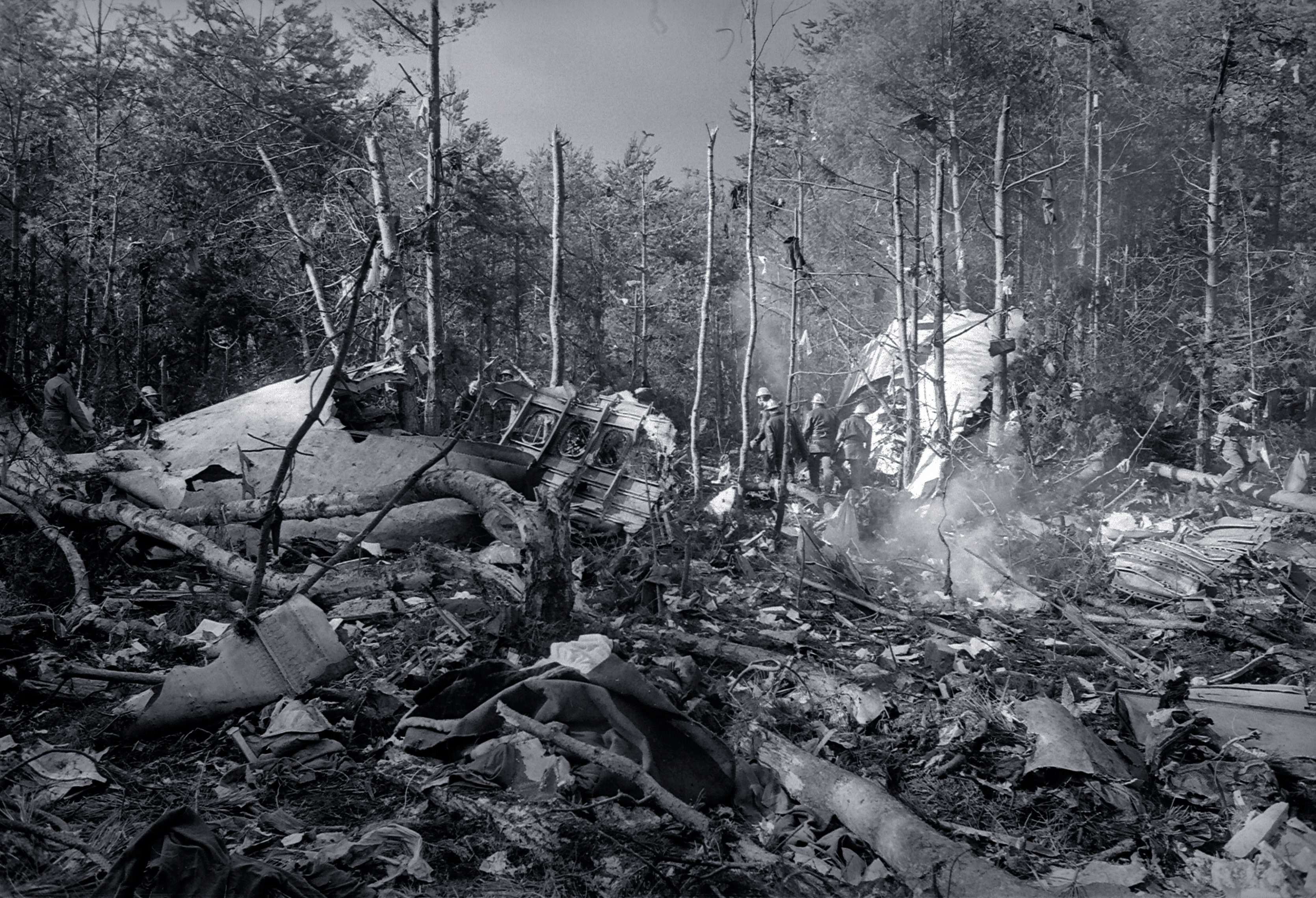 346 трупов и просека в лесу под Парижем: как разбился один из самых надёжных самолётов в мире