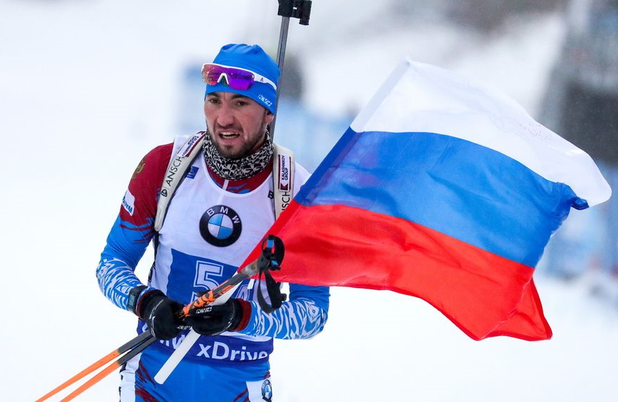 <p>Биатлонист Александр Логинов. Фото © ТАСС / EPA / ARMANDO BABANI</p>