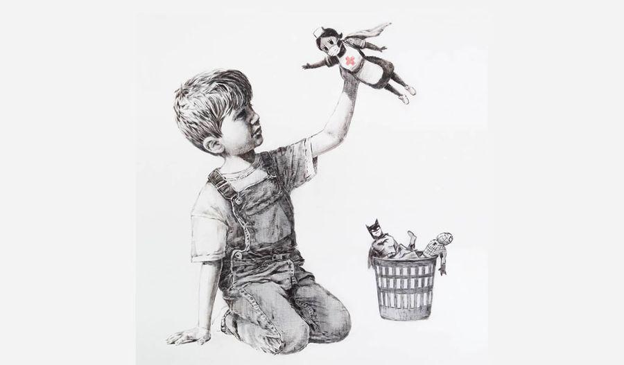 "<p>Фото © Instagram / <a href=""https://www.instagram.com/p/B_2o3A5JJ3O/"" target=""_blank"" rel=""noopener noreferrer"">Banksy</a></p>"