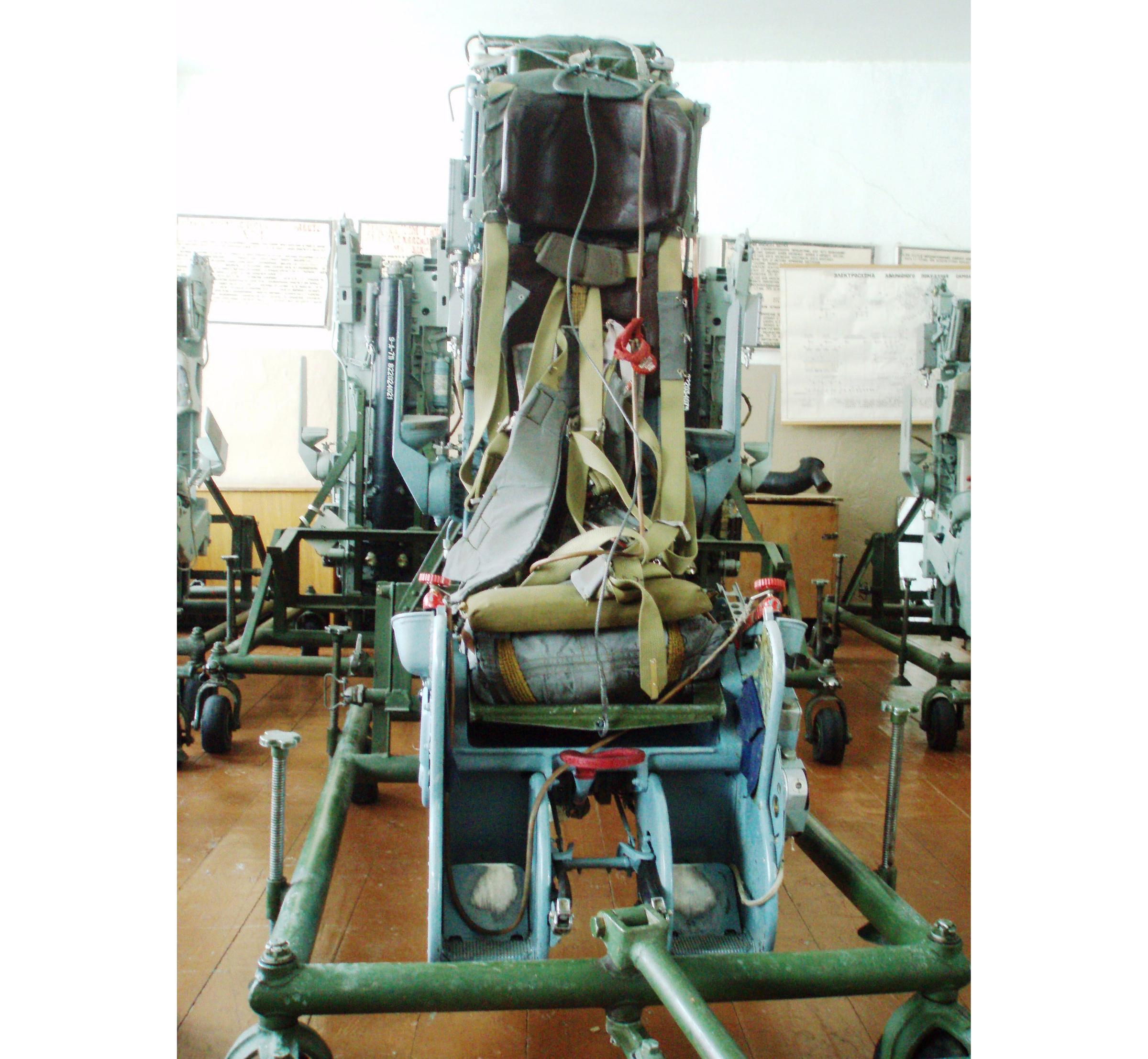 КТ-1М — катапультируемое кресло. Фото © Wikiwand.com