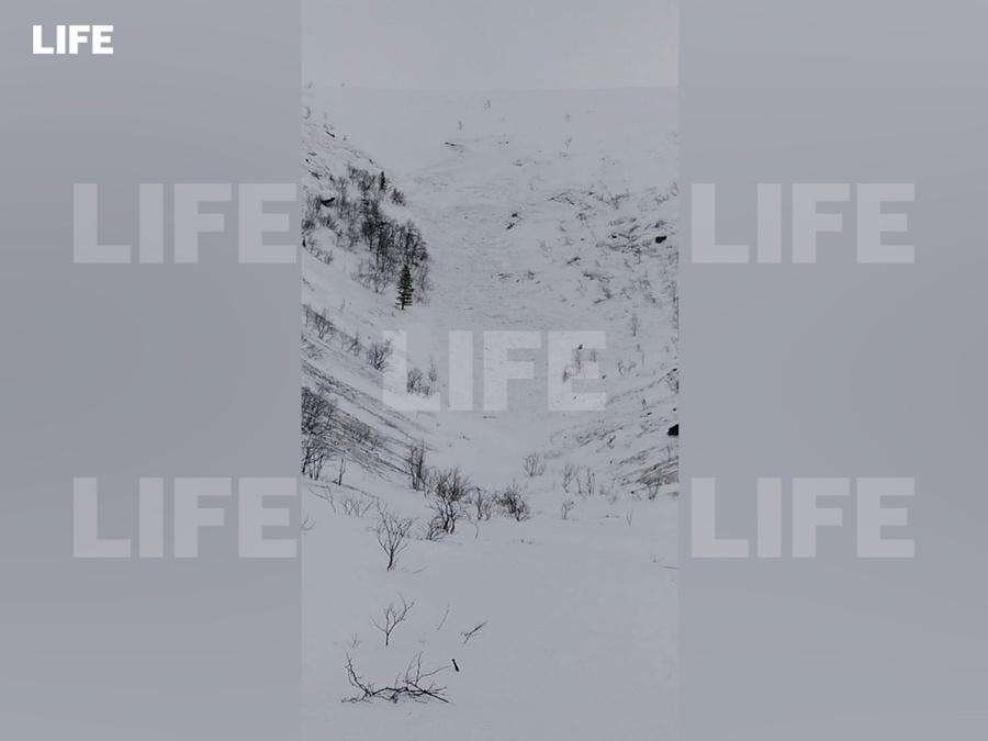 <p>Место схода лавины. Фото © LIFE </p>