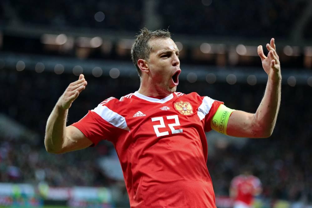 Капитан Дзюба снова в старте: сборная России назвала состав на матч с Мальтой