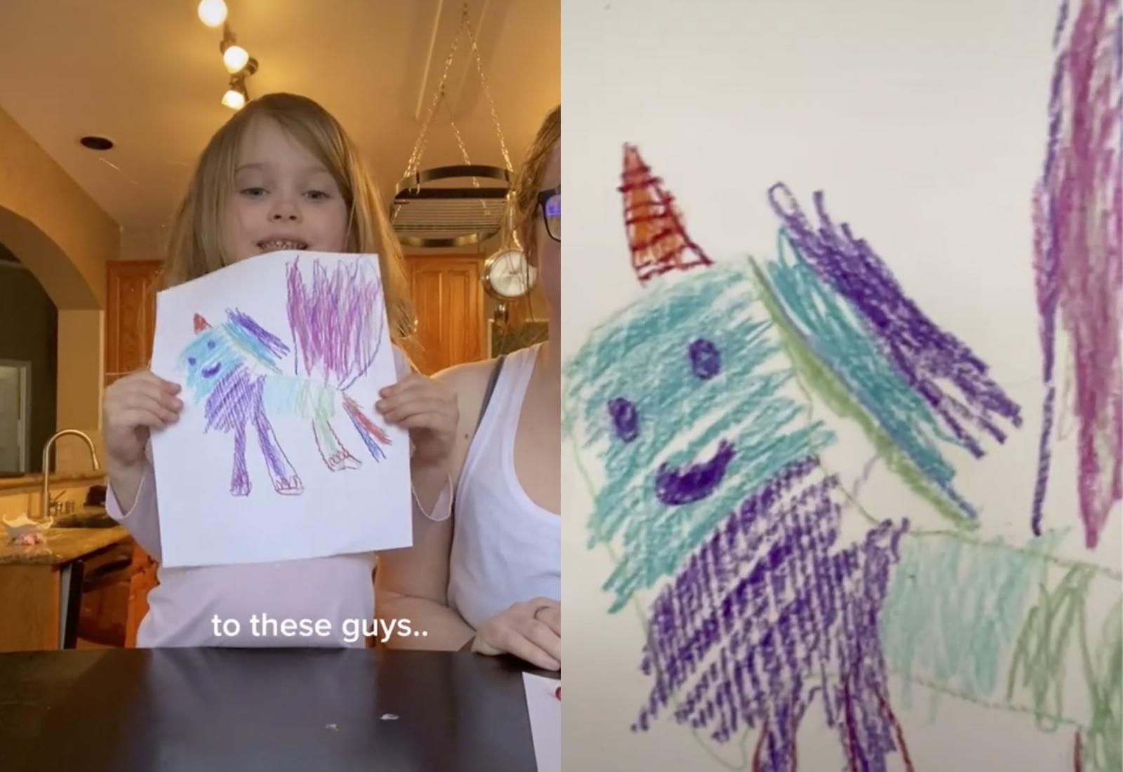 Кадры из видео © TikTok / autist_artist_