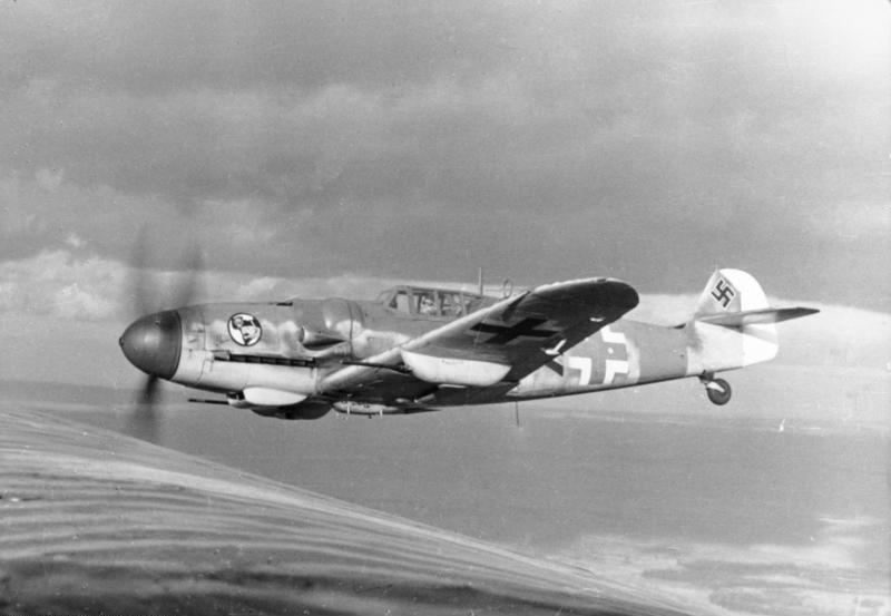 Messerschmitt. Фото © Wikipedia