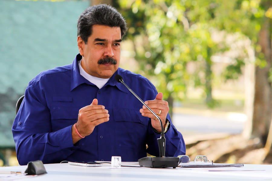 "<p>Фото © Twitter / <a href=""https://twitter.com/NicolasMaduro/status/1373802216100925440/photo/1"" target=""_blank"" rel=""noopener noreferrer"">Nicolás Maduro</a></p>"