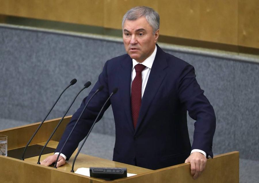 <p>Вячеслав Володин. Фото © ТАСС / Антон Новодережкин</p>
