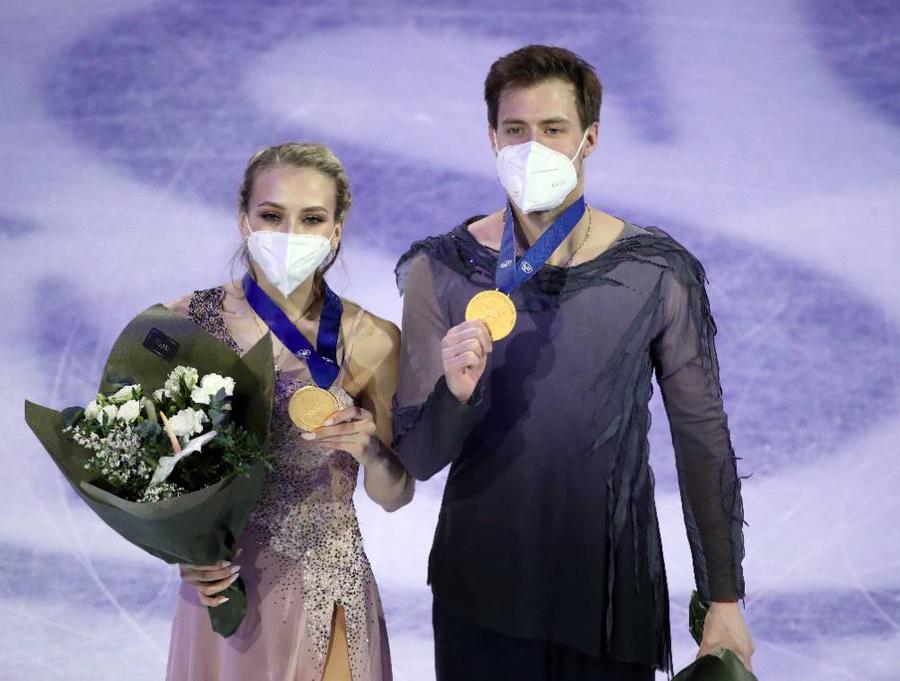 <p>Виктория Синицина и Никита Кацалапов. Фото © ТАСС / Наталия Федосенко</p>