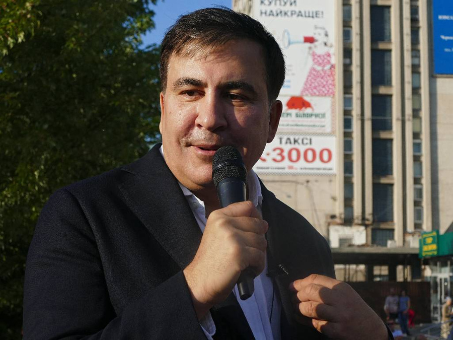 <p>Михаил Саакашвили. Фото © ТАСС / Zuma </p>