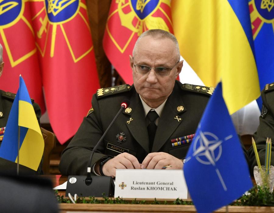 <p>Руслан Хомчак. Фото © Генеральный штаб ВСУ</p>