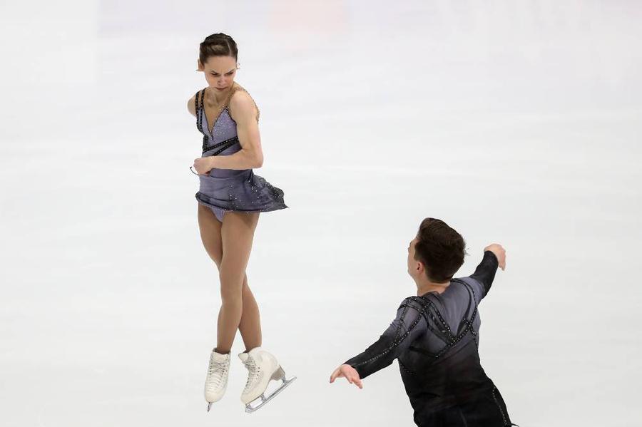 <p>Дарья Павлюченко и Денис Ходыкин. Фото © ТАСС / Сергей Савостьянов</p>