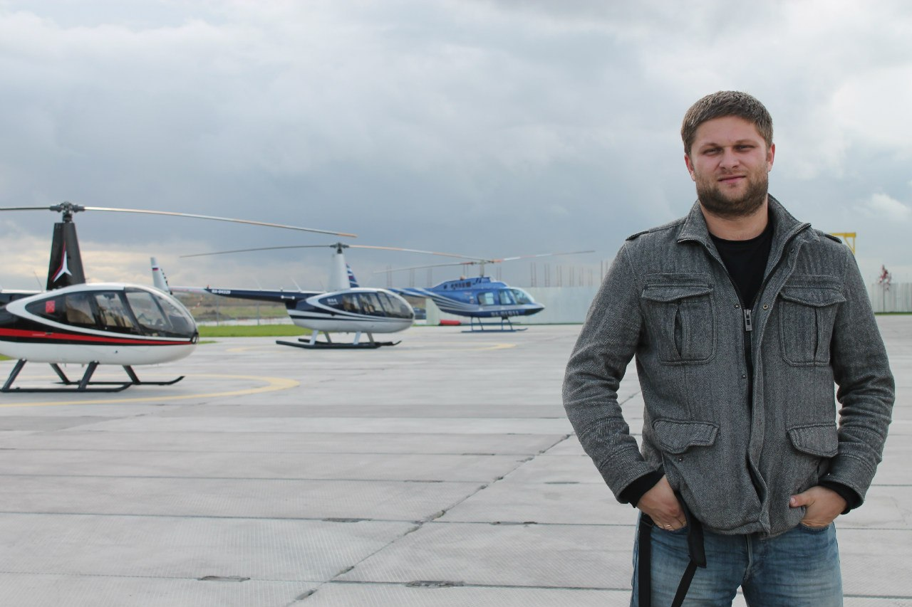 Бизнес-партнёр Чурова-младшего Руслан Лабунский. Фото © VK / Руслан Лабунский
