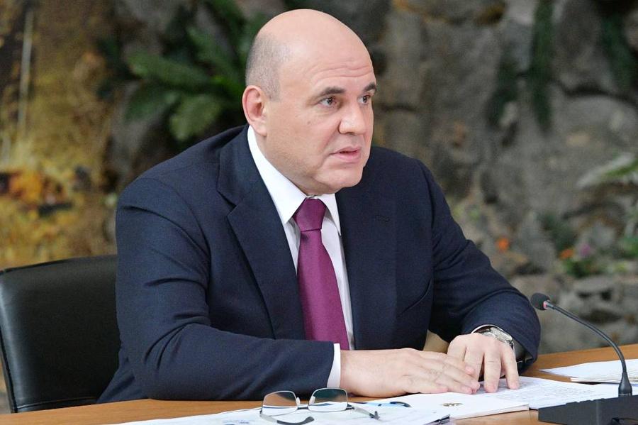 <p>Михаил Мишустин. Фото © ТАСС / Александр Астафьев / POOL</p>