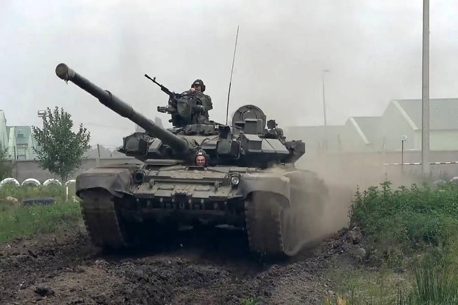 <p>Танк Т-90М. Фото © Минобороны РФ</p>