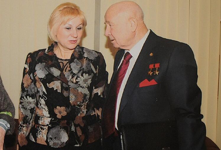 Румия и Алексей Леонов. Фото © Из архива Румии Нурскановой