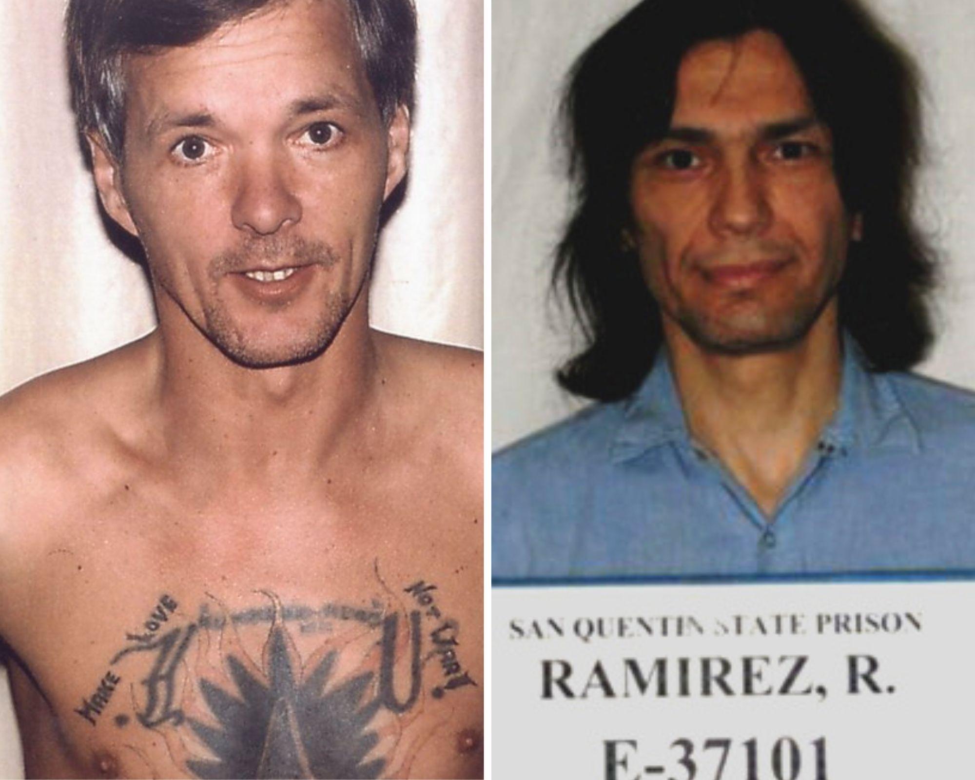Унтервегер (слева) и Рамирес. Фото © Twitter / LPontheleft / San Quentin State Prison