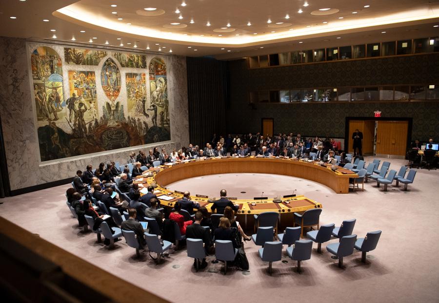 <p>Заседание Совбеза ООН. Фото © ТАСС / Ralf Hirschberger / dpa</p>
