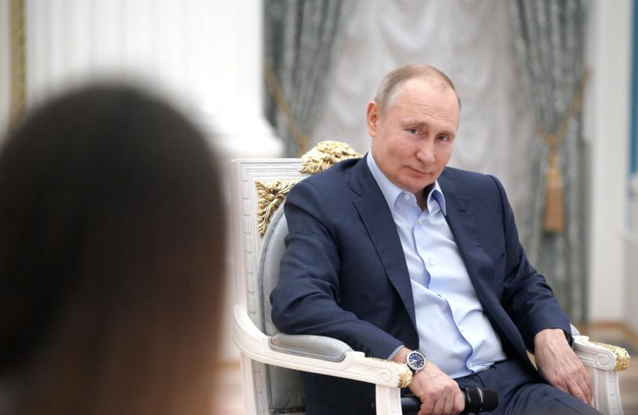"<p>Президент Владимир Путин навстрече сучастниками акции #МыВместе. Фото © <a href=""http://kremlin.ru/events/president/news/65096/photos/65311"" target=""_blank"" rel=""noopener noreferrer"">Kremlin.ru</a></p>"