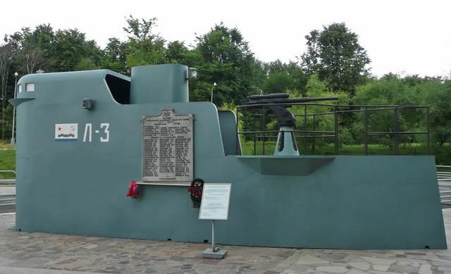 Рубка подводной лодки Л-3. Фото © Wikipedia