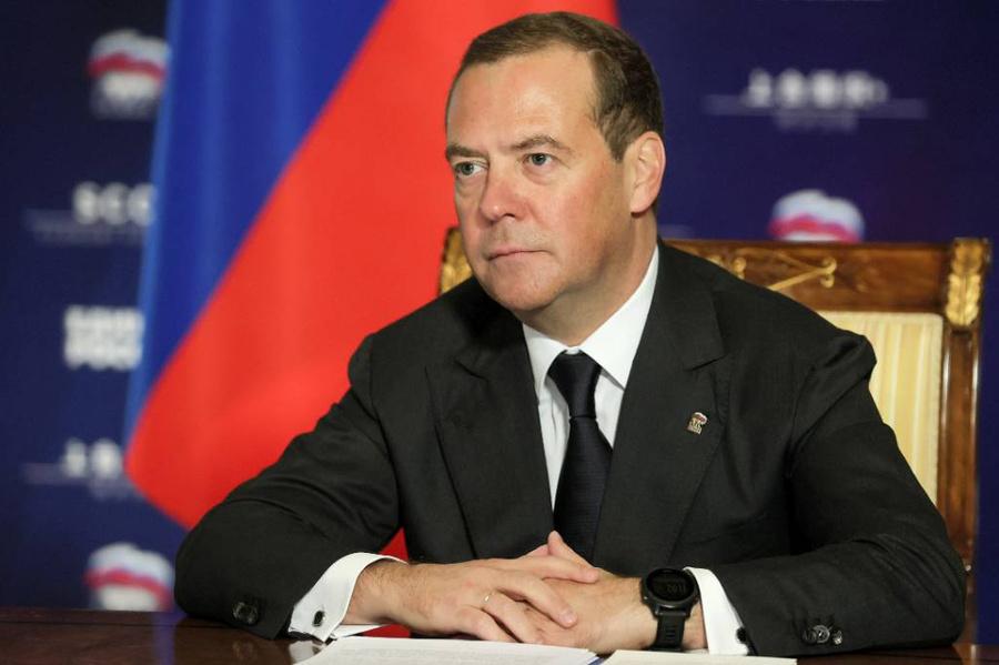 <p>Дмитрий Медведев. Фото © ТАСС / Екатерина Штукина / POOL</p>