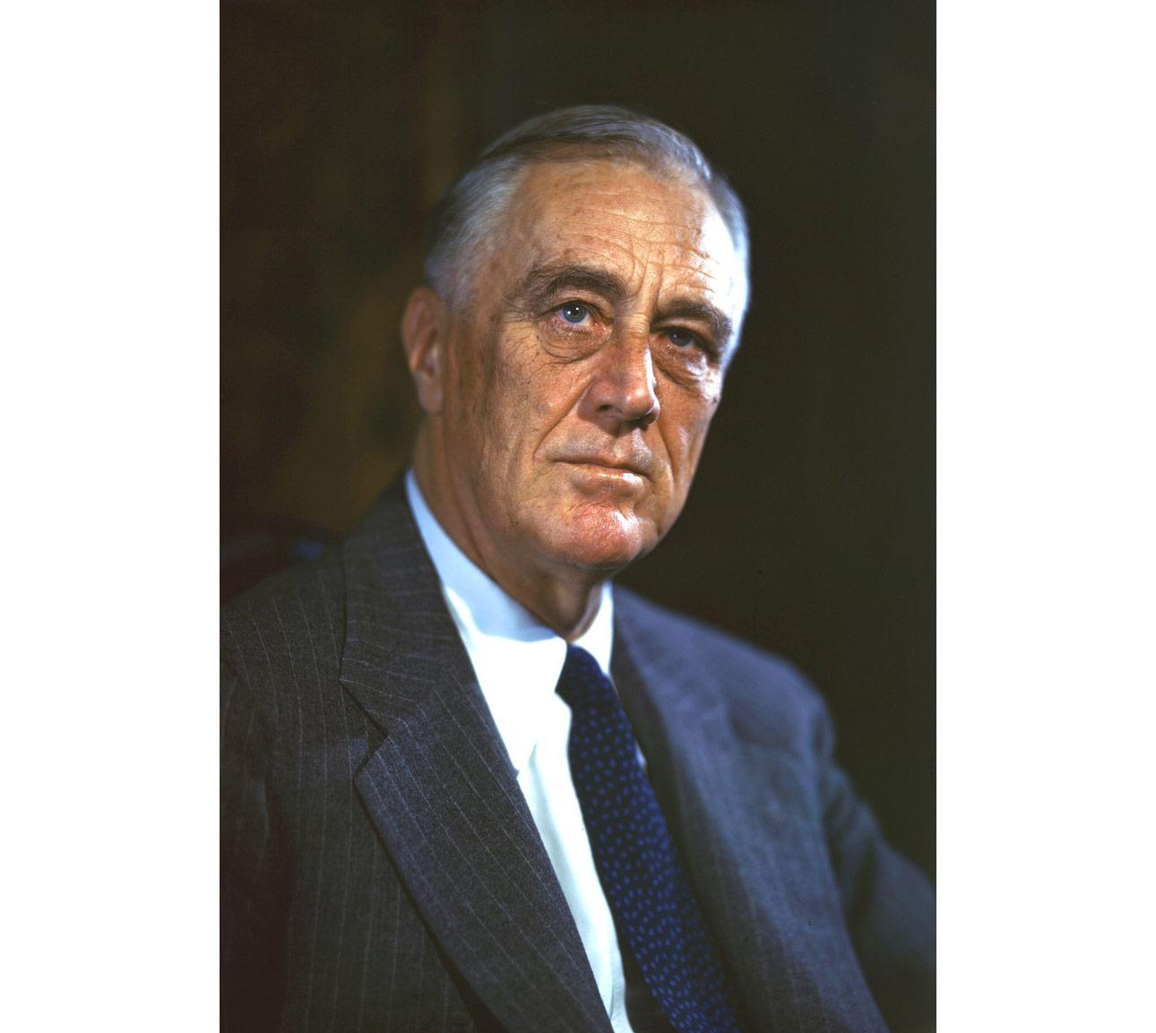 Франклин Рузвельт. Фото © wikipedia