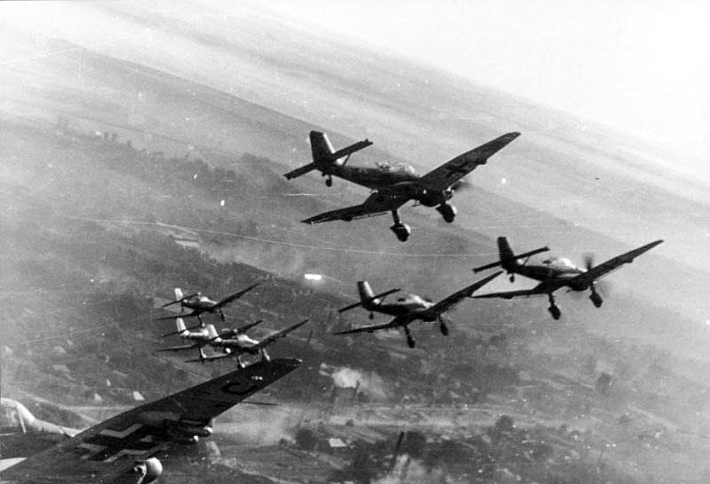 Junkers Ju-87. Фото © Wikipedia / German Federal Archive