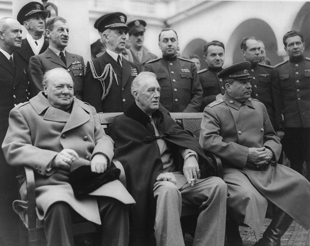 Черчилль, Рузвельт, Сталин в Ялте. Февраль 1945. Фото© wikipedia