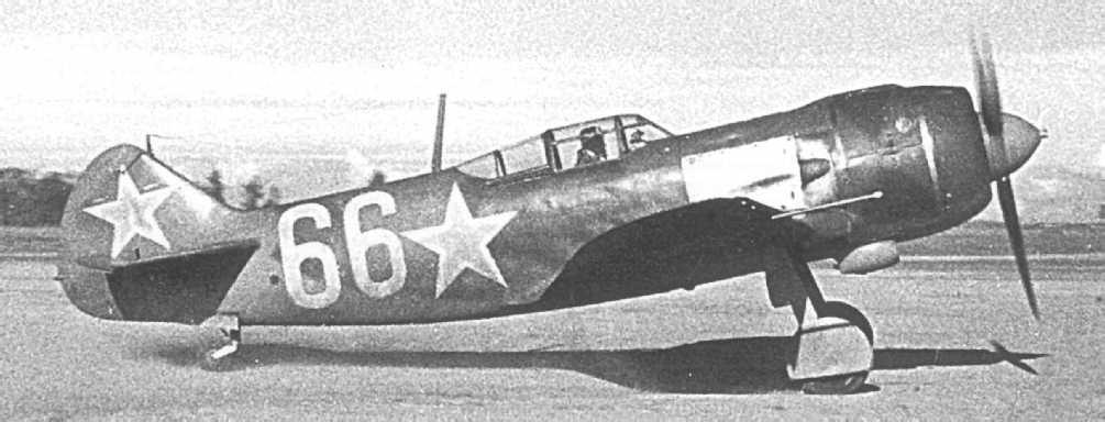Ла-5— советский одномоторный истребитель. Фото © Wikipedia
