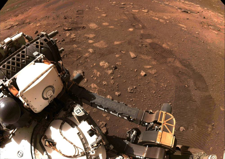 """<p>Фото © Twitter / <a href=""""https://twitter.com/NASAPersevere"""" target=""""_blank"""" rel=""""noopener noreferrer"""">NASA&#x27;s Perseverance Mars Rover</a></p>"""