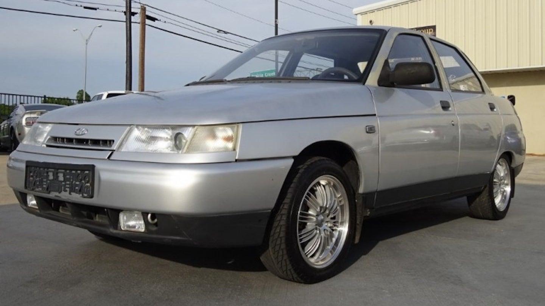 Единственный в США ВАЗ-2110 выставили на продажу за рекордную цену
