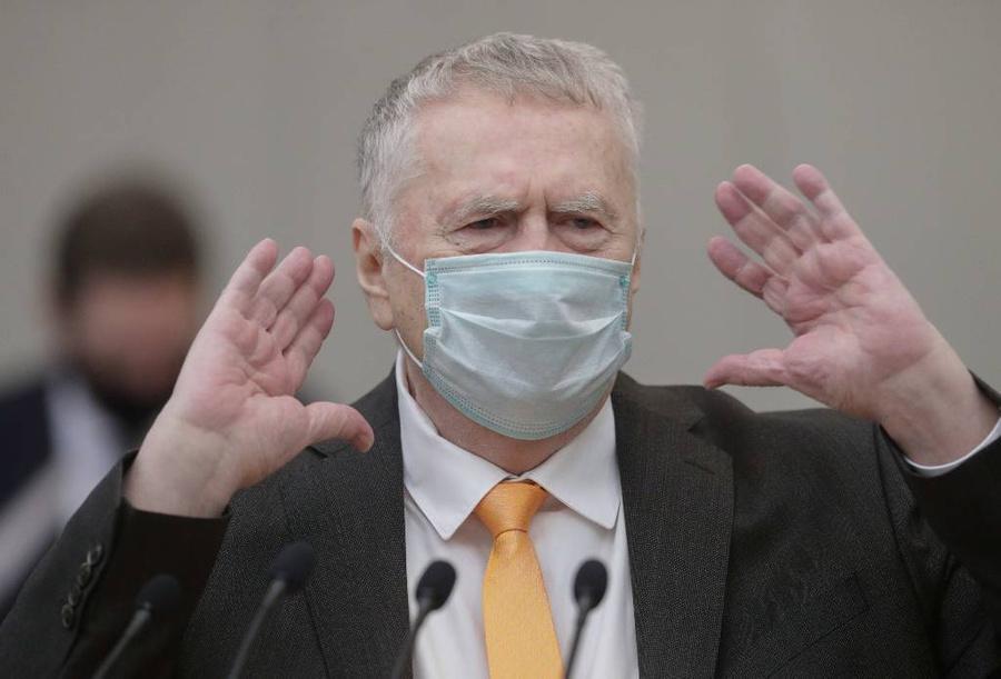 <p>Владимир Жириновский. Фото © ТАСС / Пресс-служба Госдумы РФ</p>