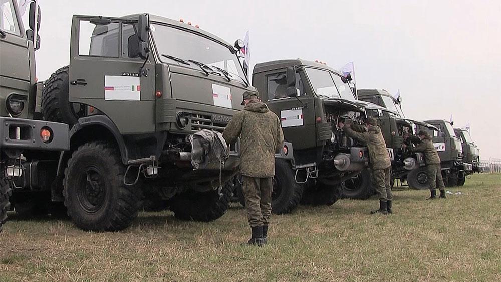 Песков: Перемещение российских войск по территории нашей страны не должно беспокоить другие государства